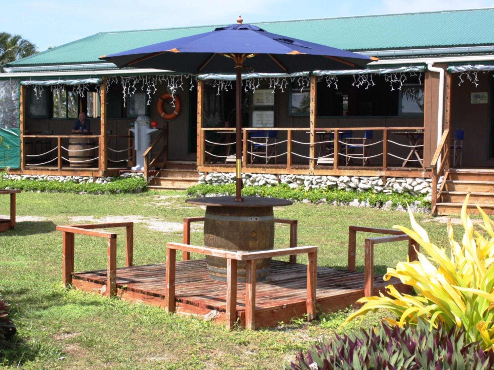 The Boat Shed Bar & Grill in Aitutaki