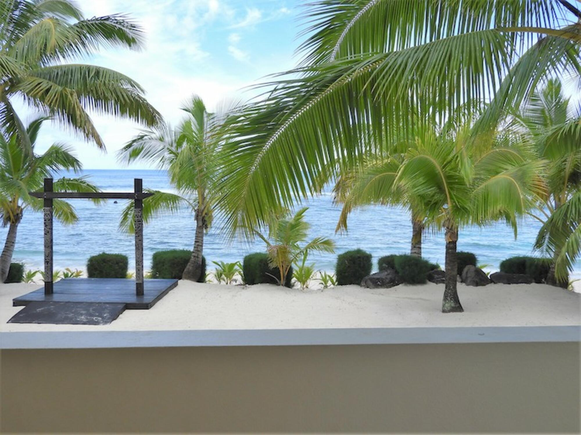 Views from Edgewater Resort and Spa's Beach Front Villa