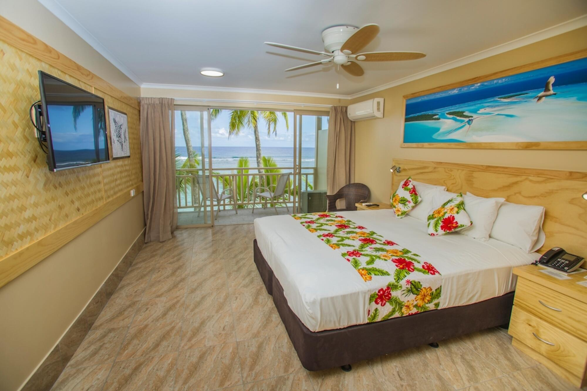 Edgewater Resort and Spa's beach front room