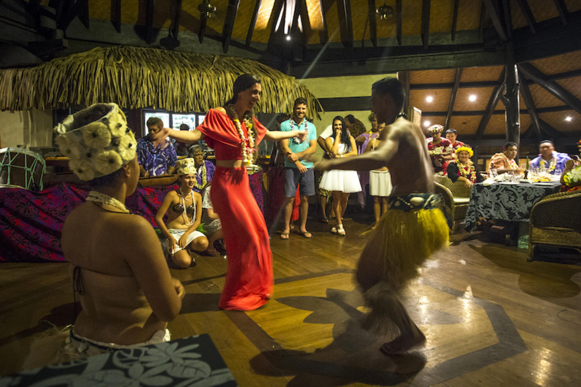 Island Night Dancing at Pacific Resort Aitutaki