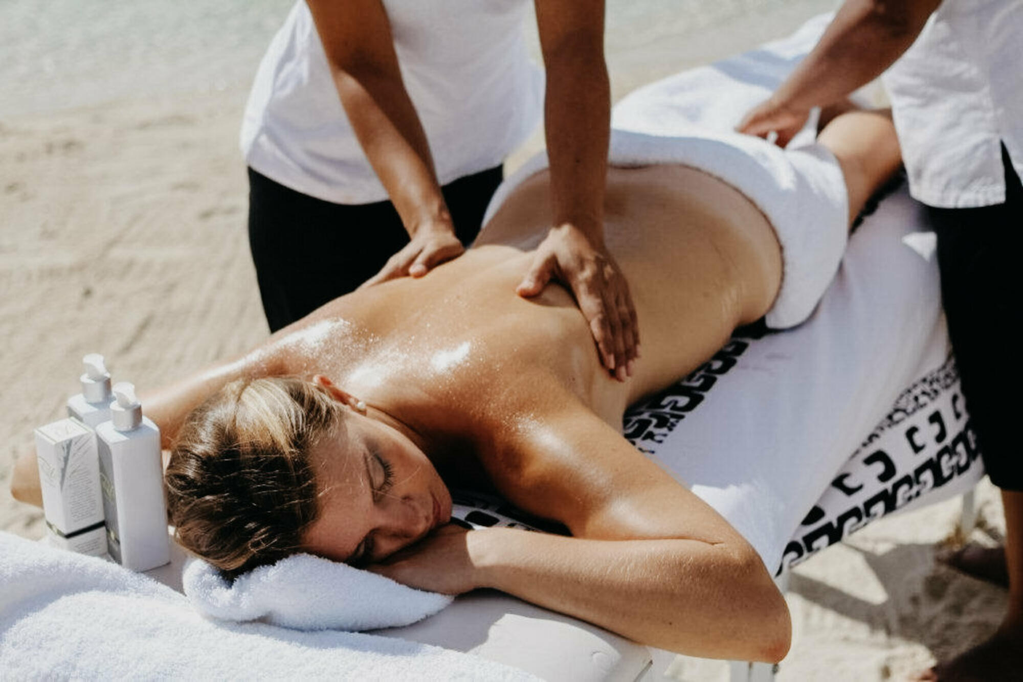Massages on the Beach at The Beauty Spa, Muri Beach Club Hotel