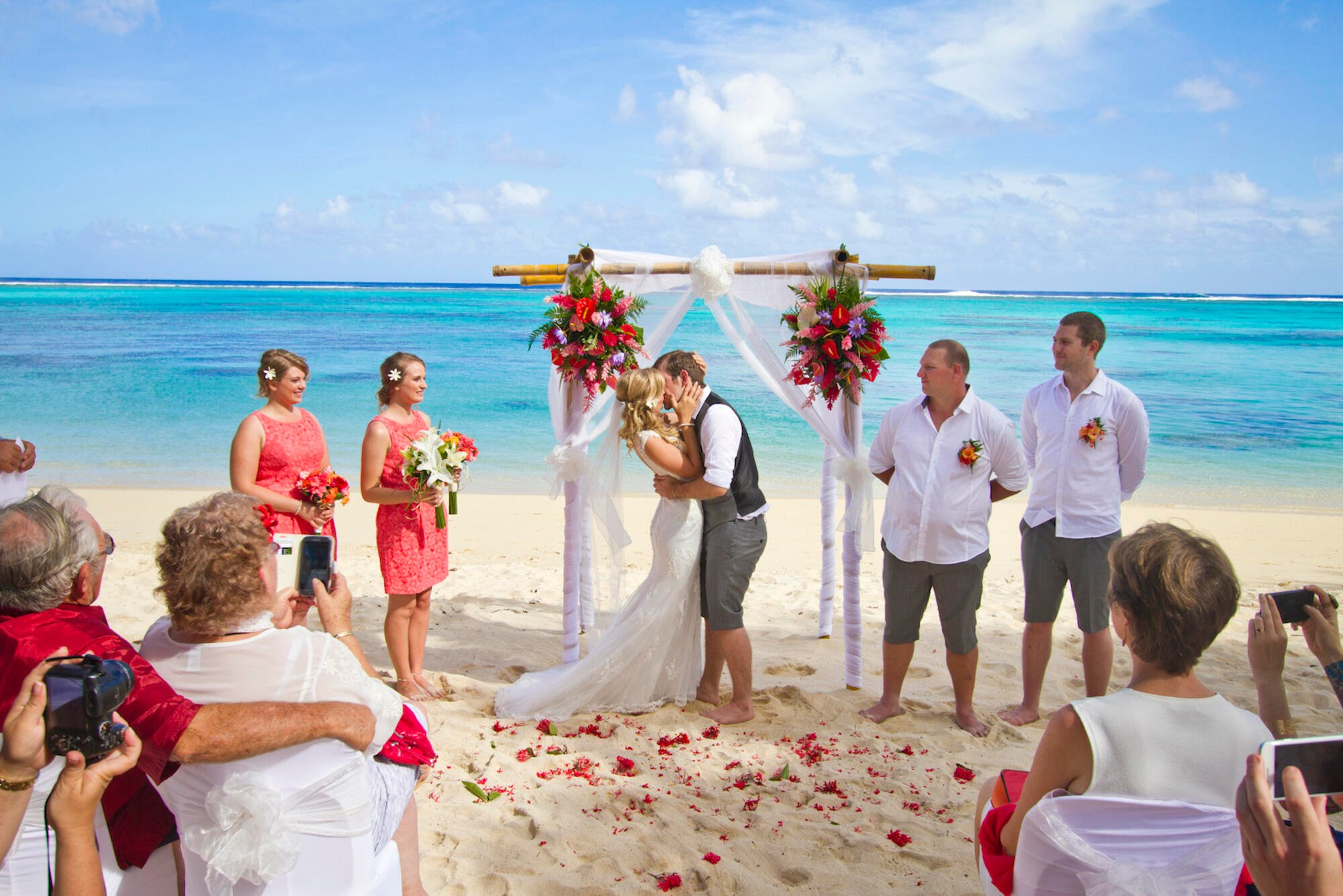 Weddings Services at Moana Sands
