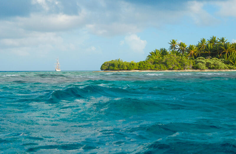 A Entrance to Suwarrow Lagoon _ Anchorage Island