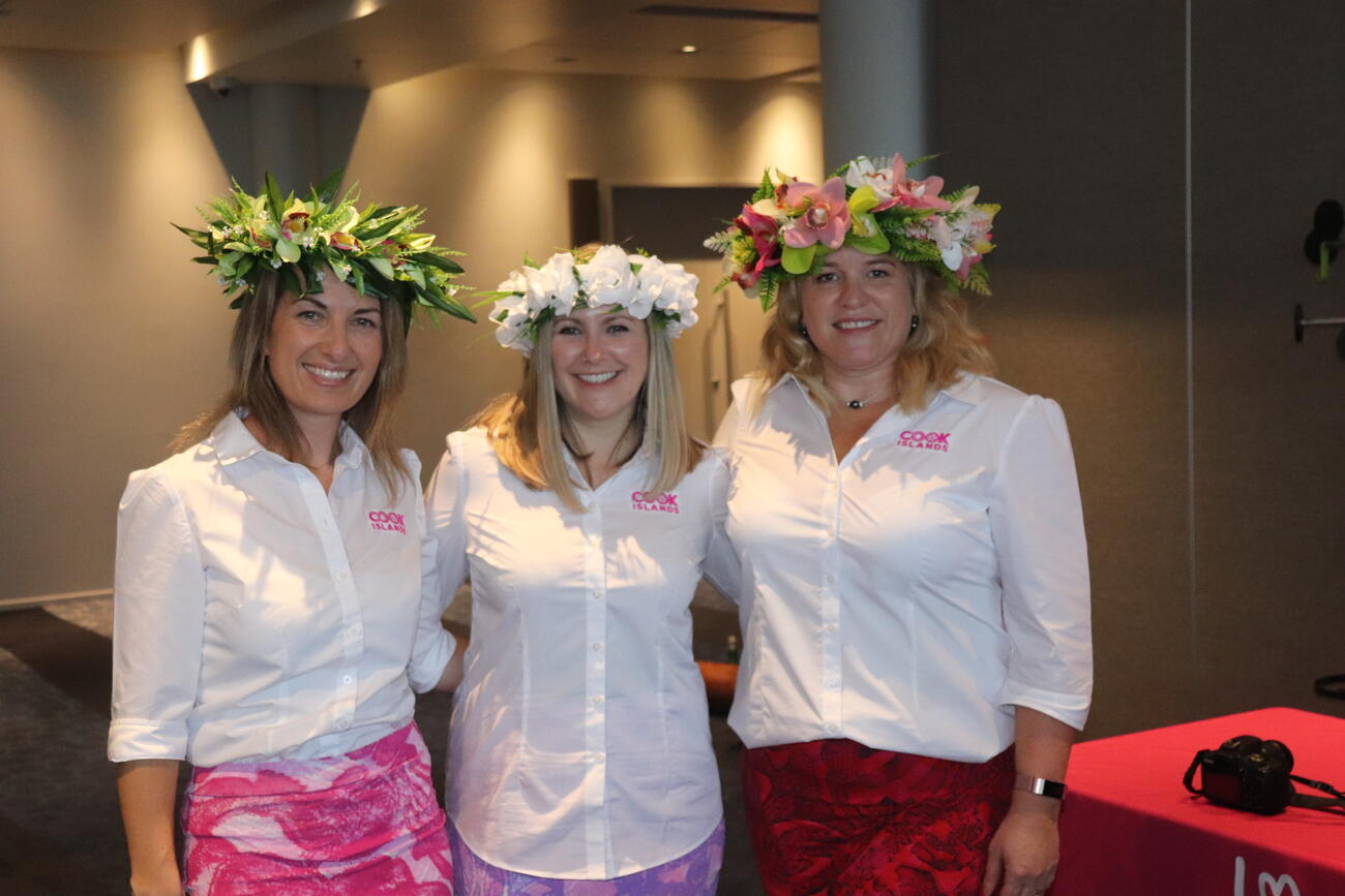 The New Zealand Cook Islands Tourism Team