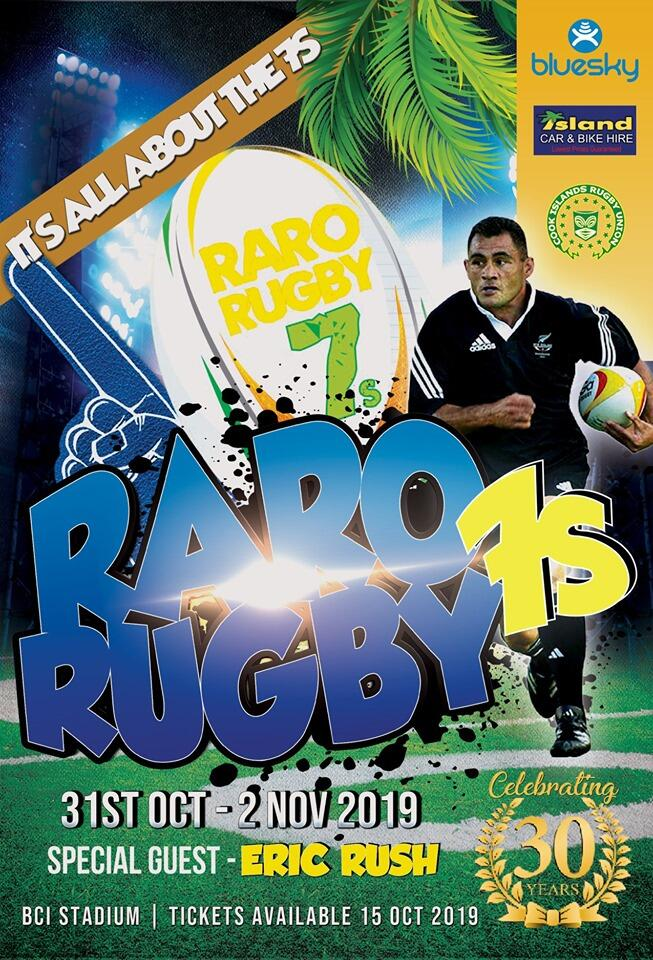 Raro Rugby 7s poster